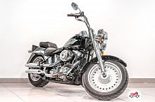 Мотоцикл Harley Davidson Fat Boy 2008, Черный